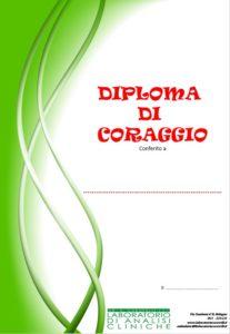 diploma coraggio
